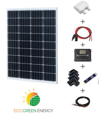 Kit panneau solaire 110W 12V camping-car complet iGreen