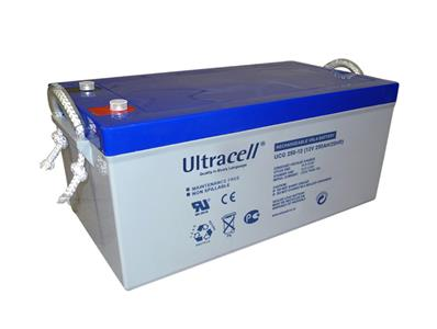 Batterie GEL 250Ah 12V Ultracell