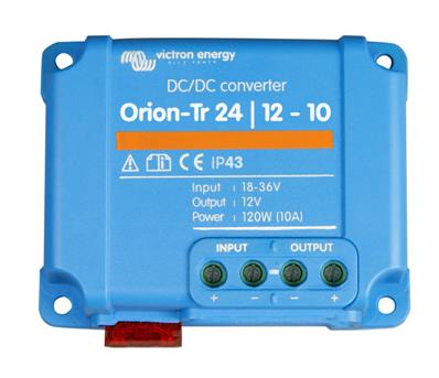 Convertisseur de tension DC/DC Orion-Tr 24V-12V 10A Victron